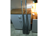 Alüminyum Bot Küreği (2 Adet) Boy 140 cm.